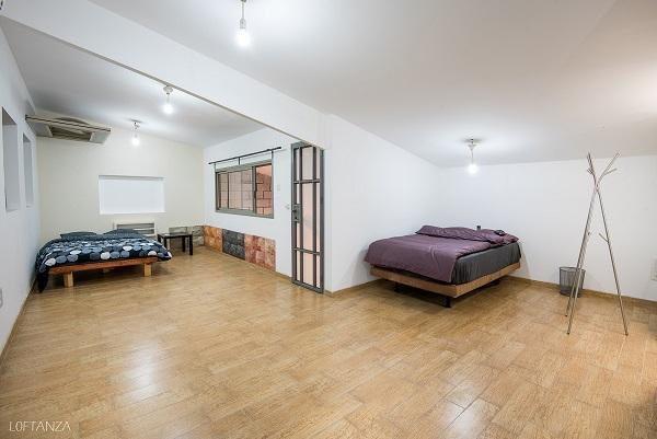 חדר השינה בלופט